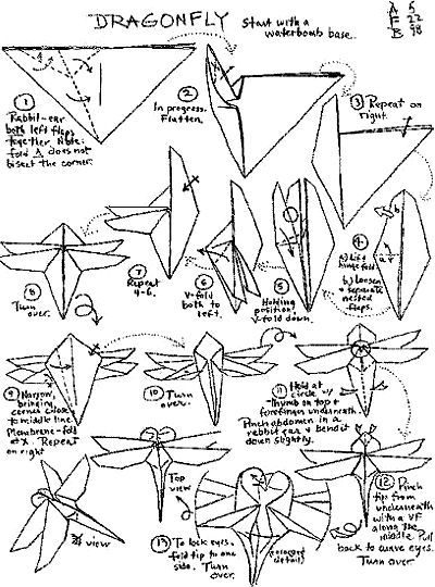 Dragonfly Diy Or Buy For Twins Pinterest Dragonflies Origami