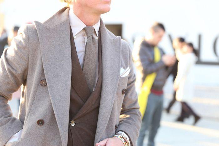 Comment porter manteau gris clair