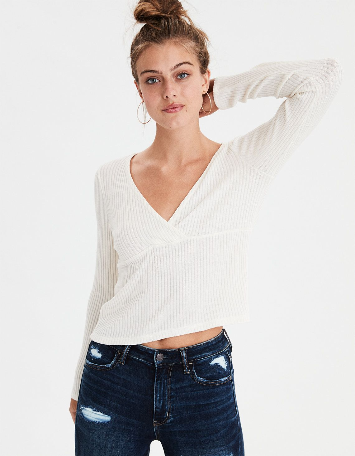764d2a9575db4 Or just a long sleeve white shirt for layering