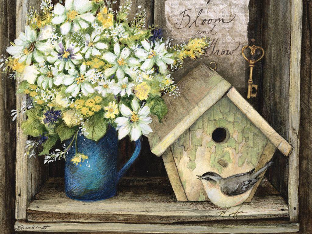 Lang March 2015 Desktop Wallpaper | Heart & Home | ART ...