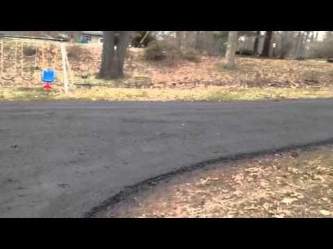 Seal Coating Crushed Recycled Asphalt Gilsonite Oil Base Illinois Paving Asphalt Driveway Driveway Sealing Driveway