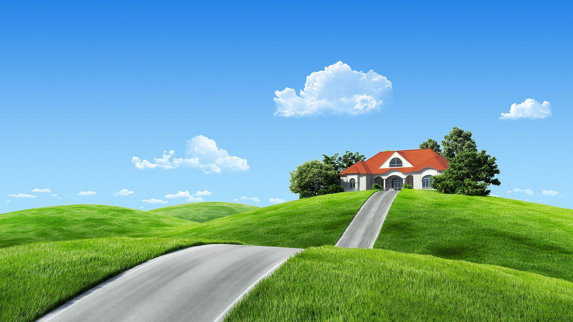 Dream House Wallpaper 1080p Xp4 House In Nature Dream House Exterior Home Wallpaper