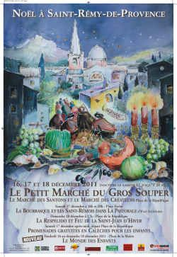 Marche De Noel En Provence Le marché de Noël à Saint Rémy de Provence. Repinned by