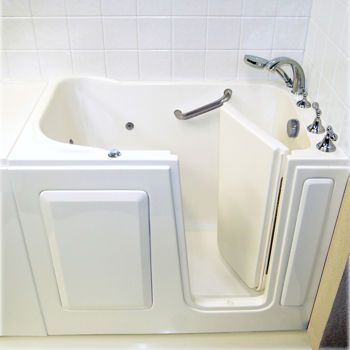 costco american standard minute drain walkin bathtub with whirlpool jet massage - American Standard Tubs