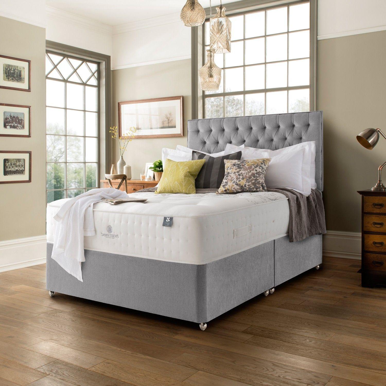 Pocket spring bed company belton 2000 divan bed bedroom for Bedroom divan
