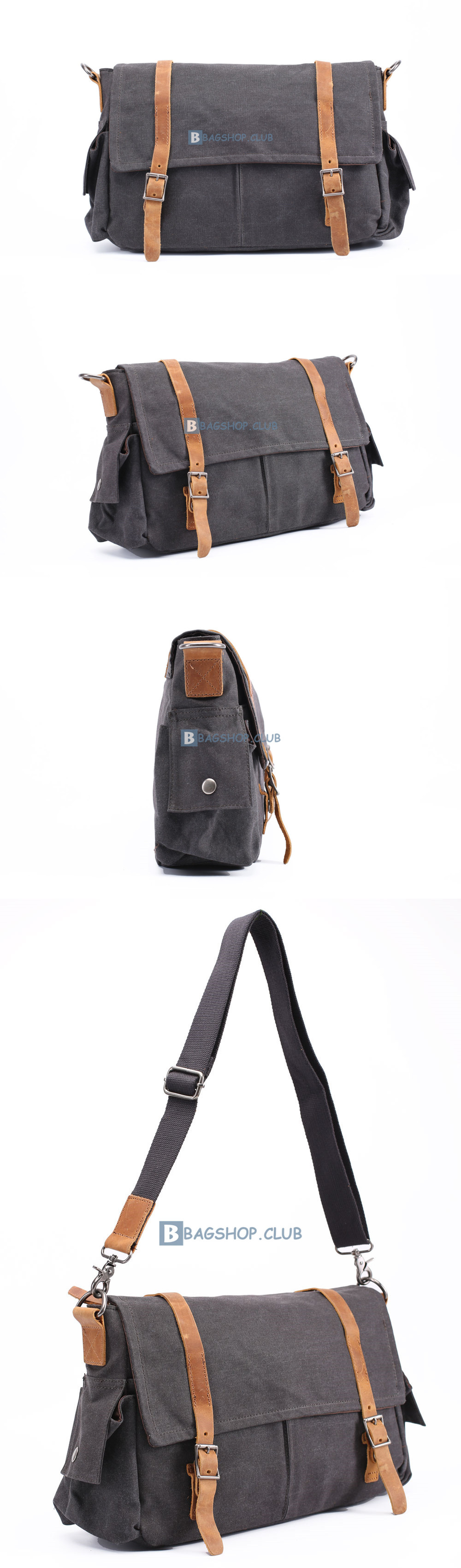 66.99 Mens Small Canvas Shoulder Bags School Bags 1d9975bebe082