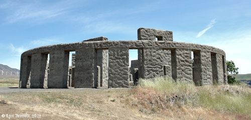 Stonehenge in Eastern Oregon.  An interesting way to educate your family and friends about the original without traveling so far.