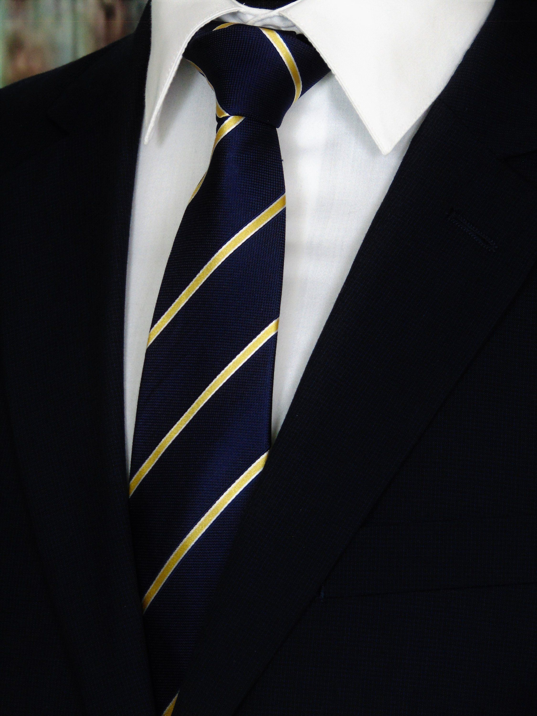 Navy Blue Art Camouflage Mens Polyester Silk Tie Neckties Neck Ties