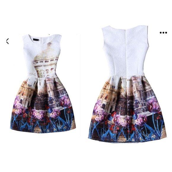 Vedtido vintage sin manga Hermoso vestido vintage Dresses Mini