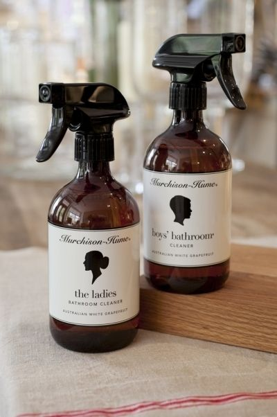 Murchison Home Ladies U0026 Boys Bathroom Cleaner, $18 @ Red Barn Mercantile