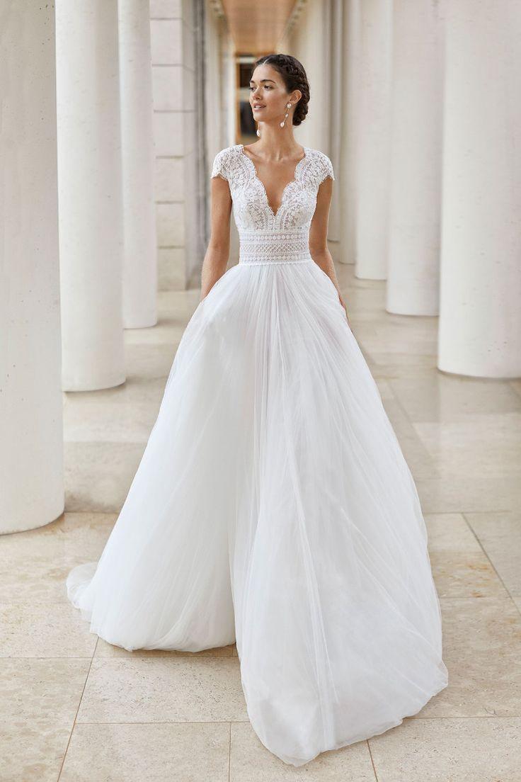 Neue Strickmode 15 in 15  Hochzeitskleid elegant