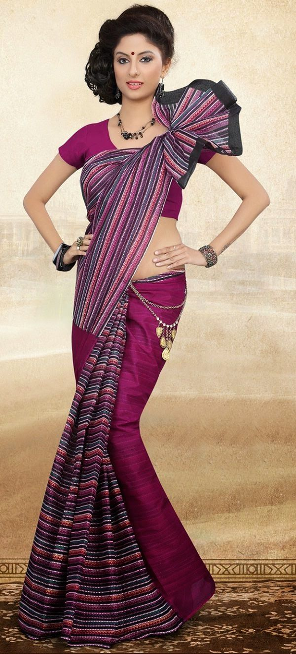 how to clean a saree