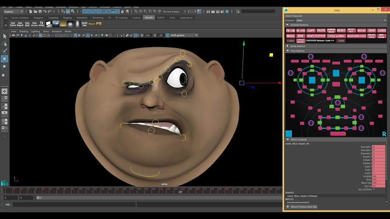 Auto-Rigging Tool Helps You Set Up a Complex Facial Rig Easily in