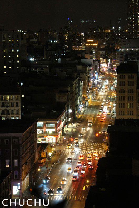 View From Sheraton Hotel, 370 Canal Street, New York, NY