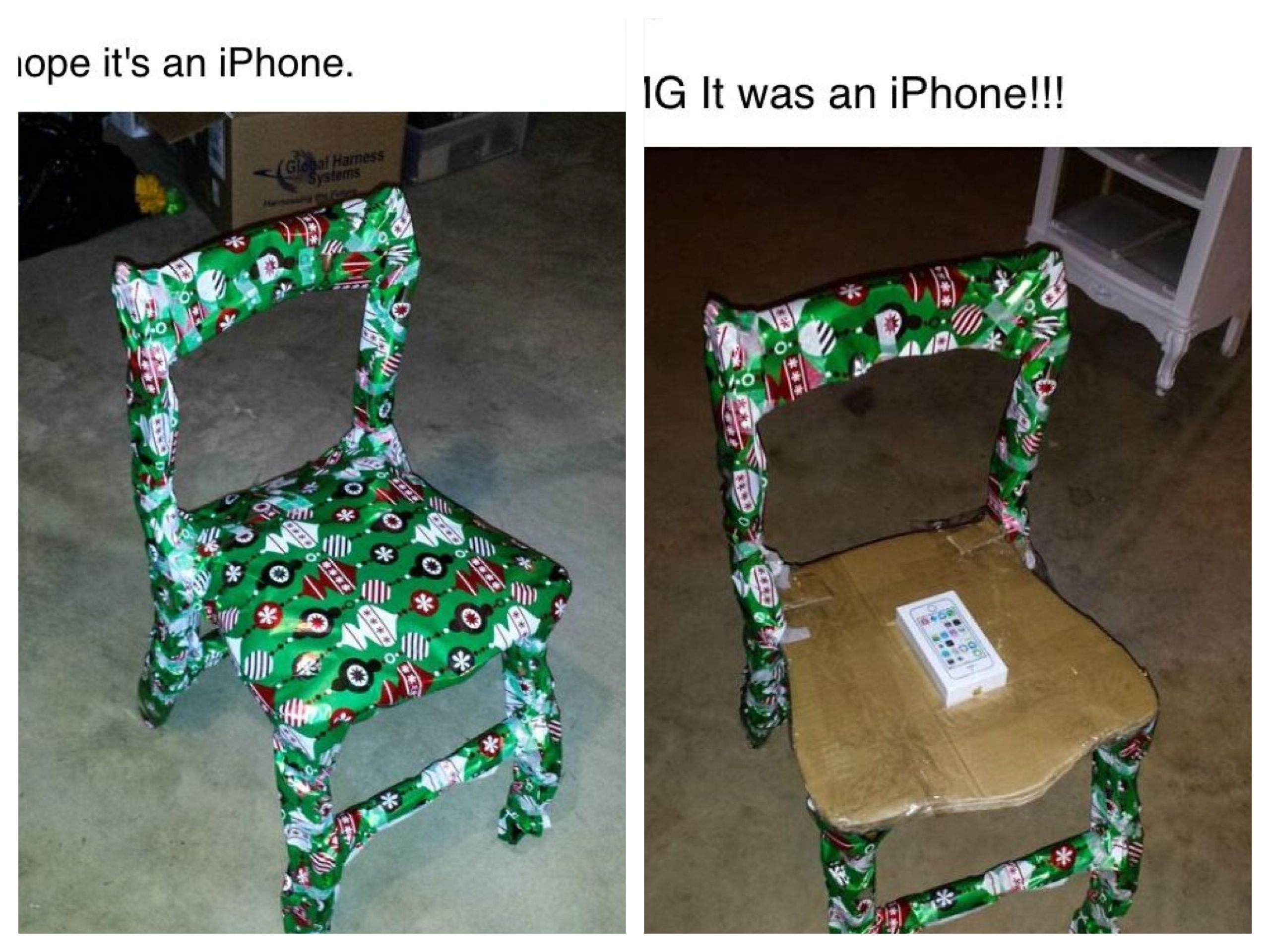 I Hope It S An Iphone Haha Iphone Gifts Gifts Kids Christmas