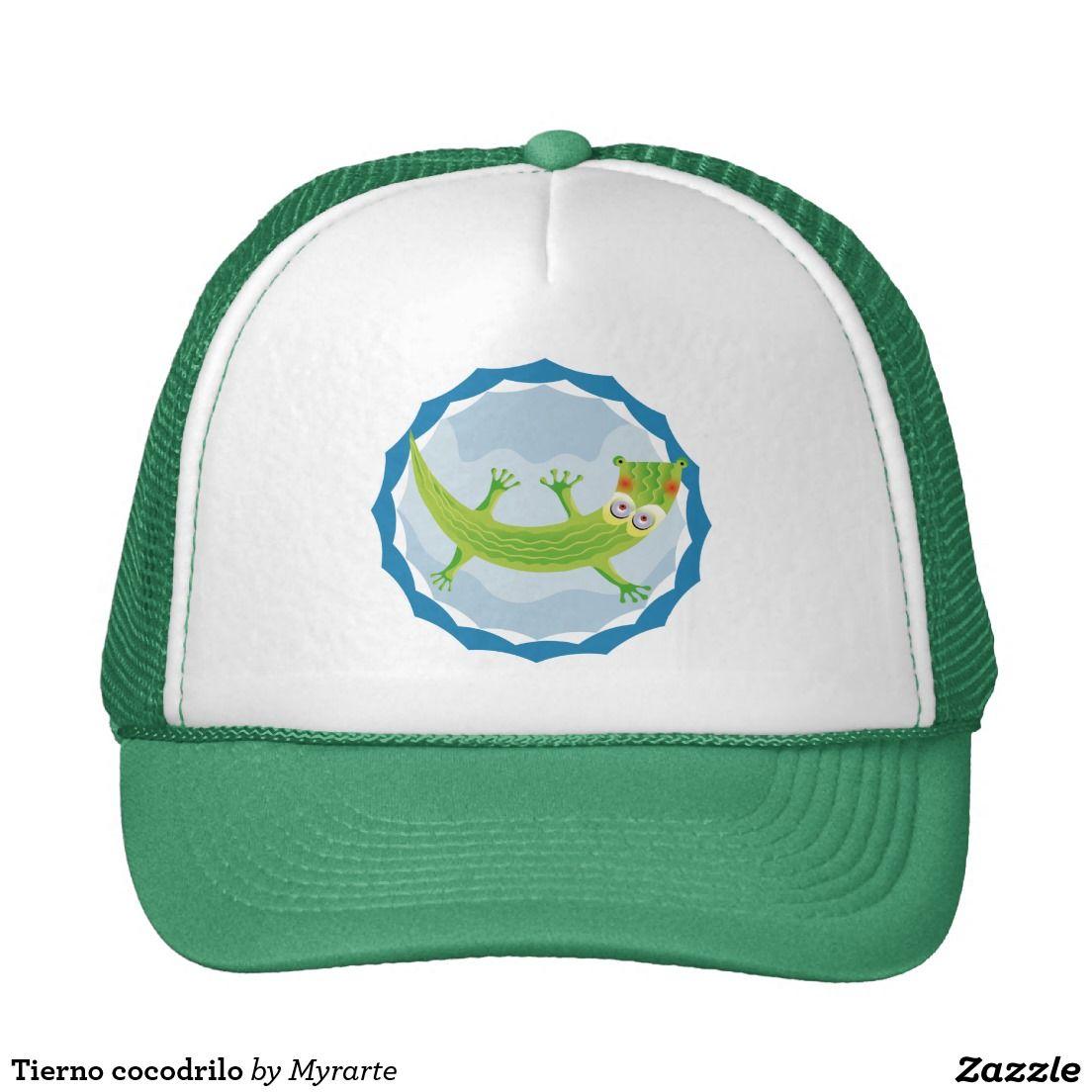 Tierno cocodrilo trucker hat. Producto disponible en tienda Zazzle. Accesorios, moda. Product available in Zazzle store. Fashion Accessories. Regalos, Gifts. Link to product: http://www.zazzle.com/tierno_cocodrilo_trucker_hat-148640164694309798?CMPN=shareicon&lang=en&social=true&view=113076339708907653&rf=238167879144476949 #gorra #hat #cocodrilo #crocodile