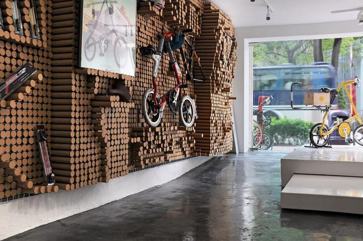 Spread By Gum Bicycle Store Eureka Hong Kong Retail Design