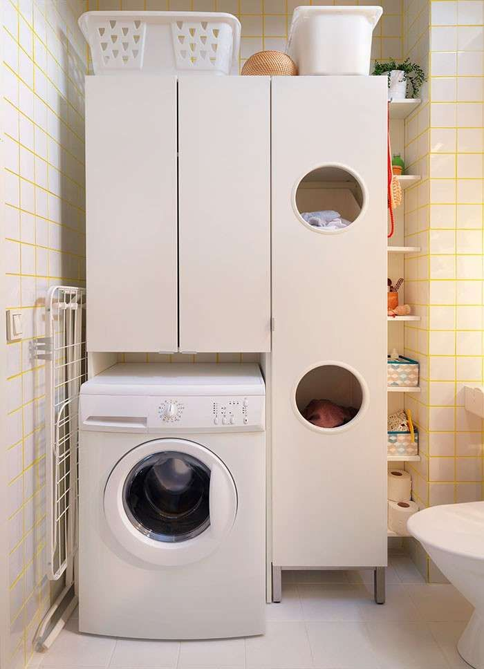 Ikea bagno 2015 - Angolo lavanderia | Ikea 2015, Bagno ikea e Pensili