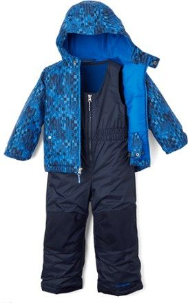 200e7547f94e Columbia Frosty Slope Snowsuit Set - Toddlers