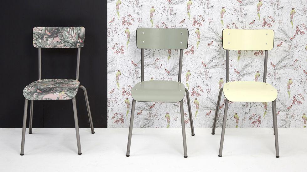le mobilier pr t porter de la marque les gambettes joue la carte de la nostalgie avec un clin. Black Bedroom Furniture Sets. Home Design Ideas