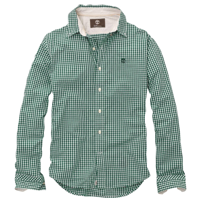 Timberland Men S Earthkeepers Long Sleeve Meriden Gingham Shirt Style 2741j Ebay Gingham Shirt Shirts Shirt Style