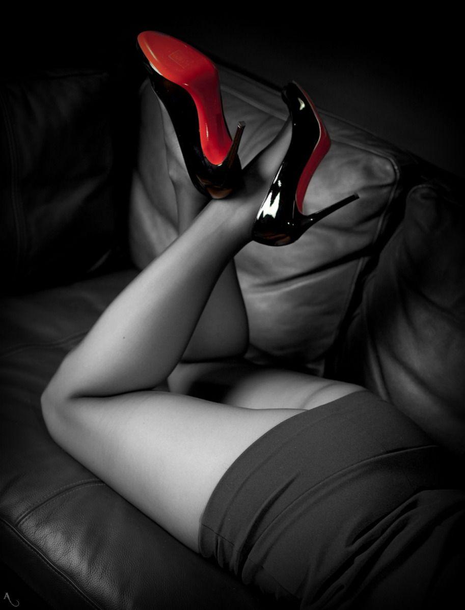 heels and nylons erotische fotografien