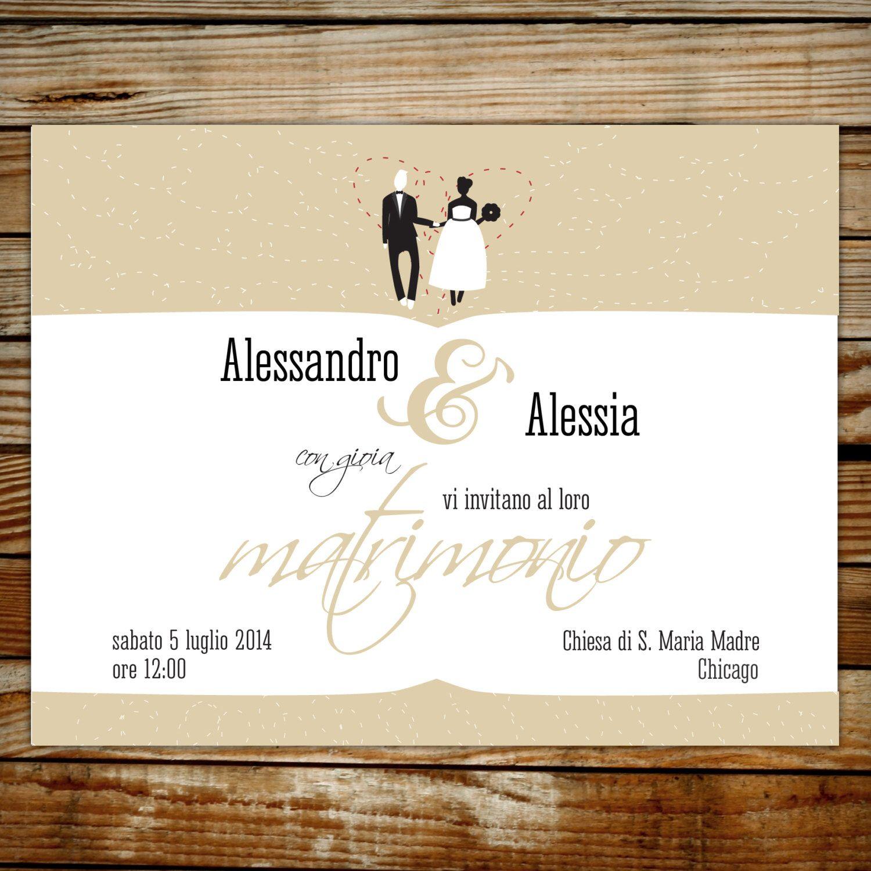 Vintage wedding invitations, car wedding invitation, bride and groom ...