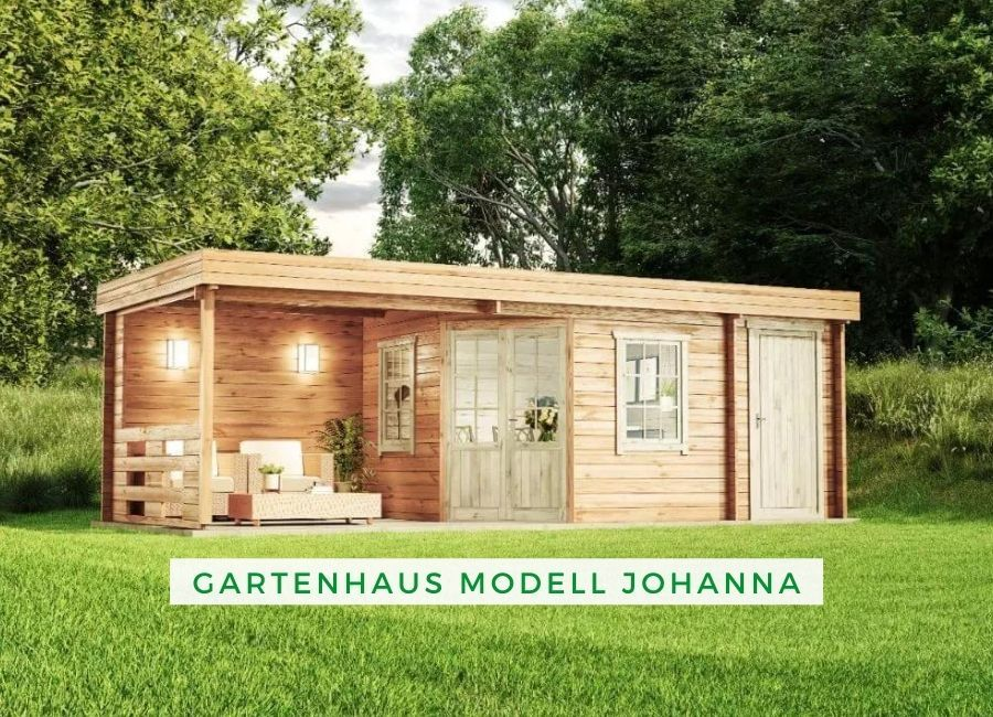 Gartenhaus Modell Johanna Gartenhaus Gartenhaus Mit Terrasse Gartenhaus Modern