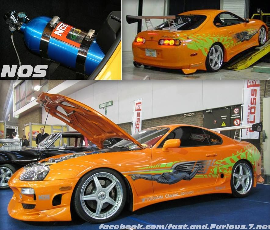 Brian's Supra - The Fast And The Furious