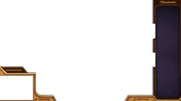 Hearthstone twitch stream overlay twitch pinterest for Twitch overlay ideas
