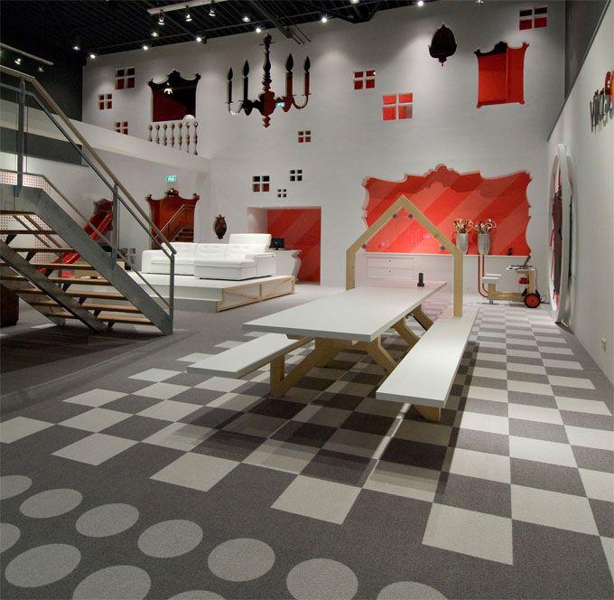vila sofa amsterdam the cool hunter retail spacefurniture storesretail - Cool Furniture Store