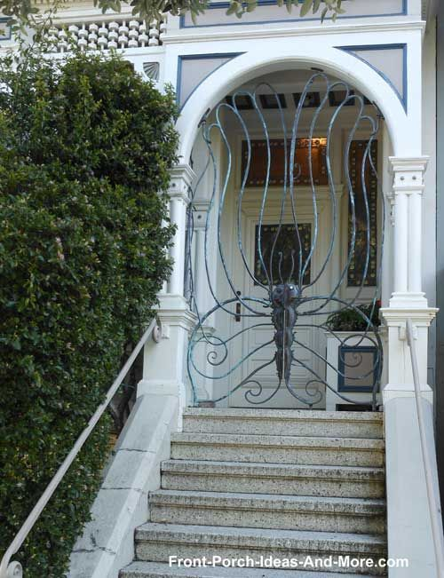 Wrought Iron Porch Gates