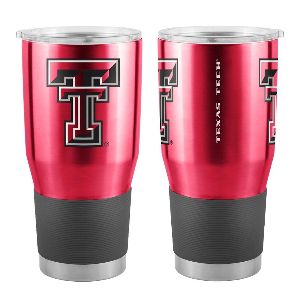 Indiana University-16 oz Stainless Steel Mug-Red