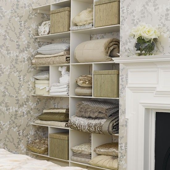 Bedroom storage ideas | Bedroom storage, Storage shelves and Storage