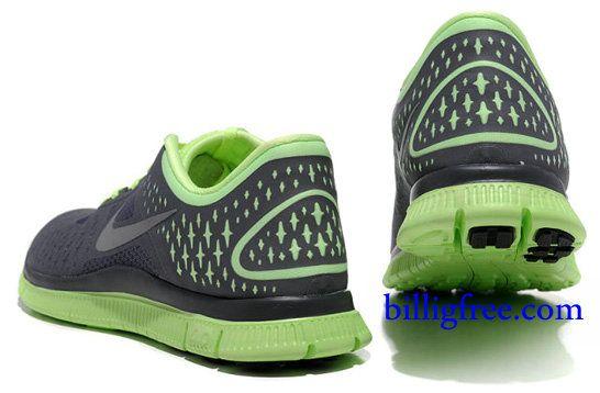 Billig Schuhe Herren Nike Free 4.0 V2 (Farbe:VampundLogo-grau;alleinige&innen-grun) Online Laden.