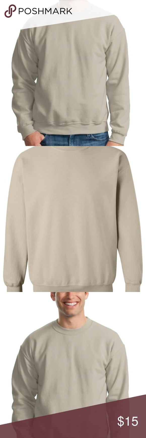 Tan Sweatshirt By Gildan Size Xl New Nwt Clothes Design Sweatshirts Fashion [ 1740 x 580 Pixel ]