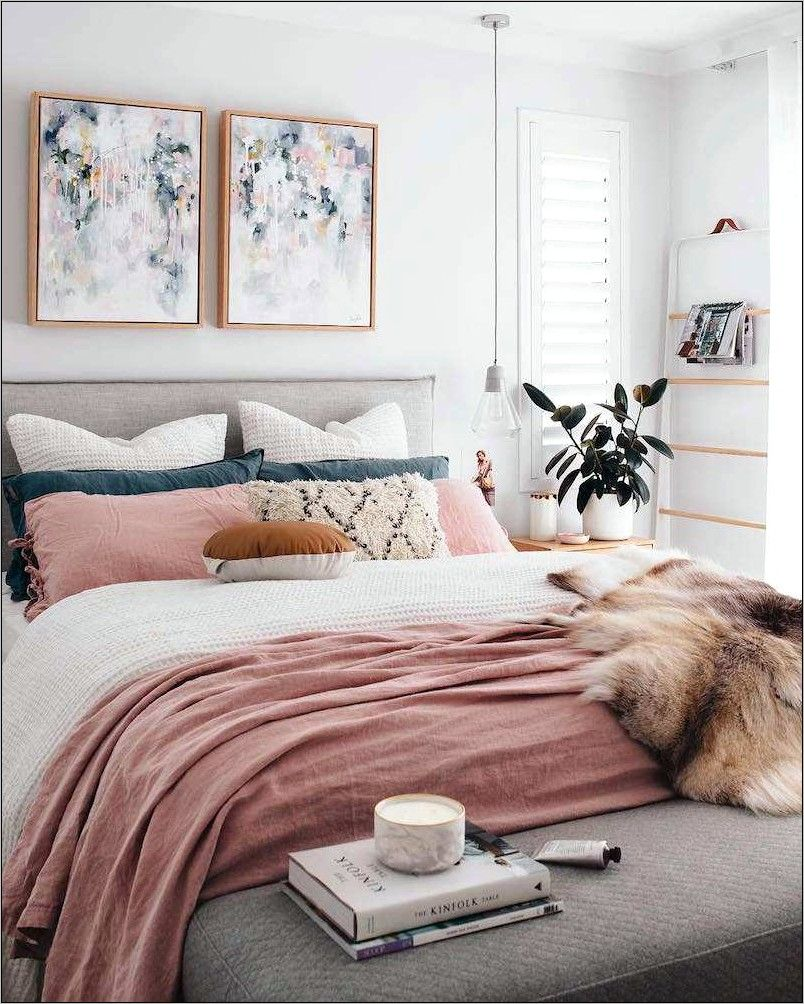 Deco Chambre A Coucher Coter Nature In 2020 Modern Bedroom