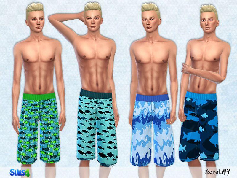 f6dd56dd8b Swim shorts for male. Found in TSR Category 'Sims 4 Male Swimwear'. Swim  shorts for male. Found in TSR Category 'Sims 4 Male Swimwear' Swimsuits