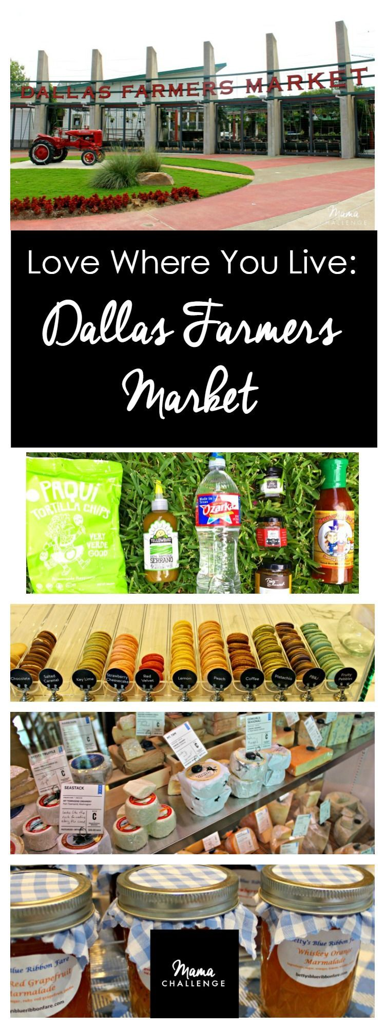 Where You Live: Dallas Farmers Market Looking to get a taste of REAL Texas? Then ask a Texan. I'm sharing some of my favorite tastes from one of my favorite Dallas spots: the Dallas Farmers Market and several of these must-have Texas tastes from Texas purveyors. Thanks to Ozarka® Brand Natural Spring Water for partnering with  for this