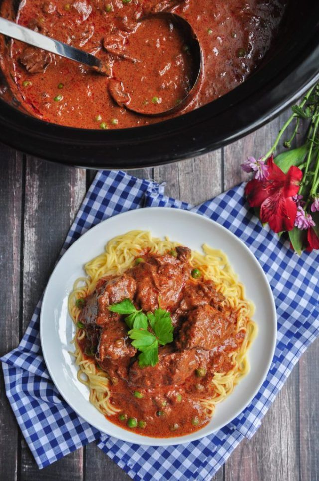 Photo of Smoked Paprika Beef Goulash is Slow-Cooker Heaven  Goulash i…