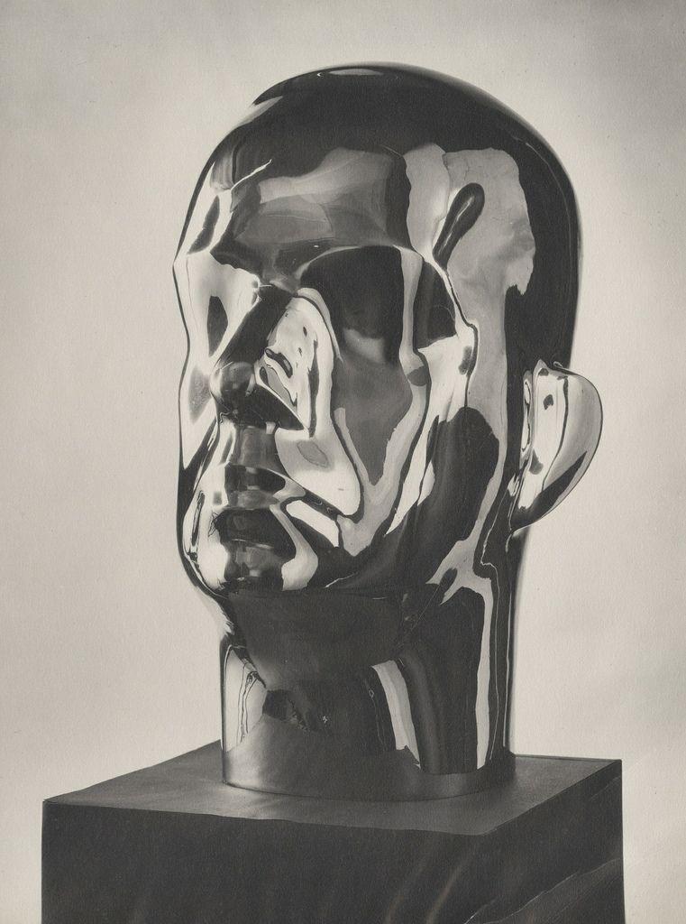 Isamu Noguchi bust of Buckminster Fuller (circa 1935