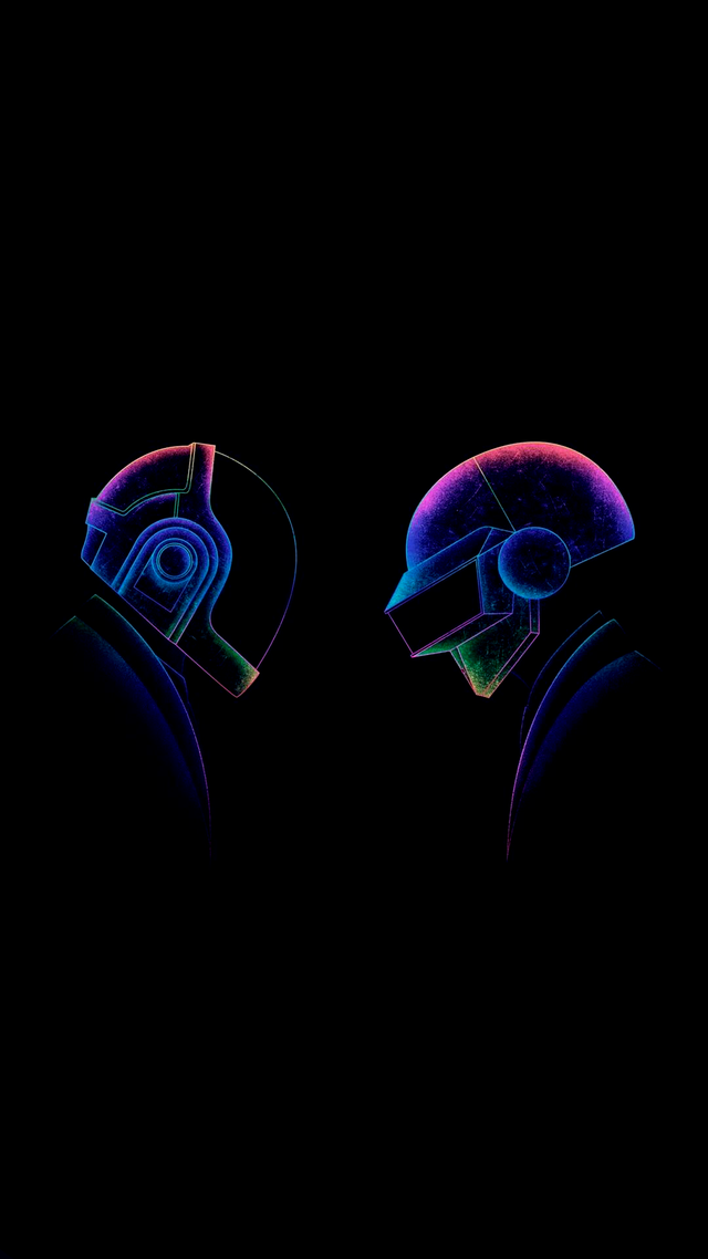Daft Punk X Post From R Amoledbackgrounds Wallpapers Daft Punk Daft Punk Poster Neon Wallpaper