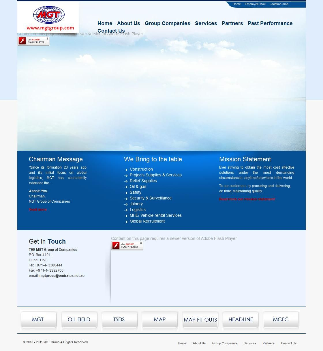 Mgt Grp (oilfield Supplies & Servicesdiv) Oilfield Equipment