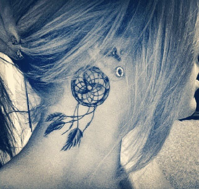 Dream catcher tattoo. LOVE