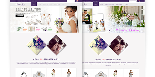 Magento Wedding Theme