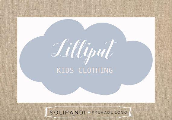 Premade Logo & Watermark // Kids Clothing Logo // Kids