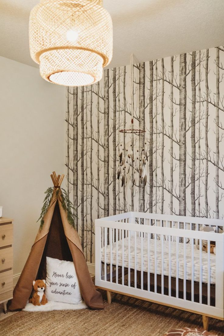 Woodland Baby Boy Nursery | Upbeat Soles | Orlando Florida Fashion Blog