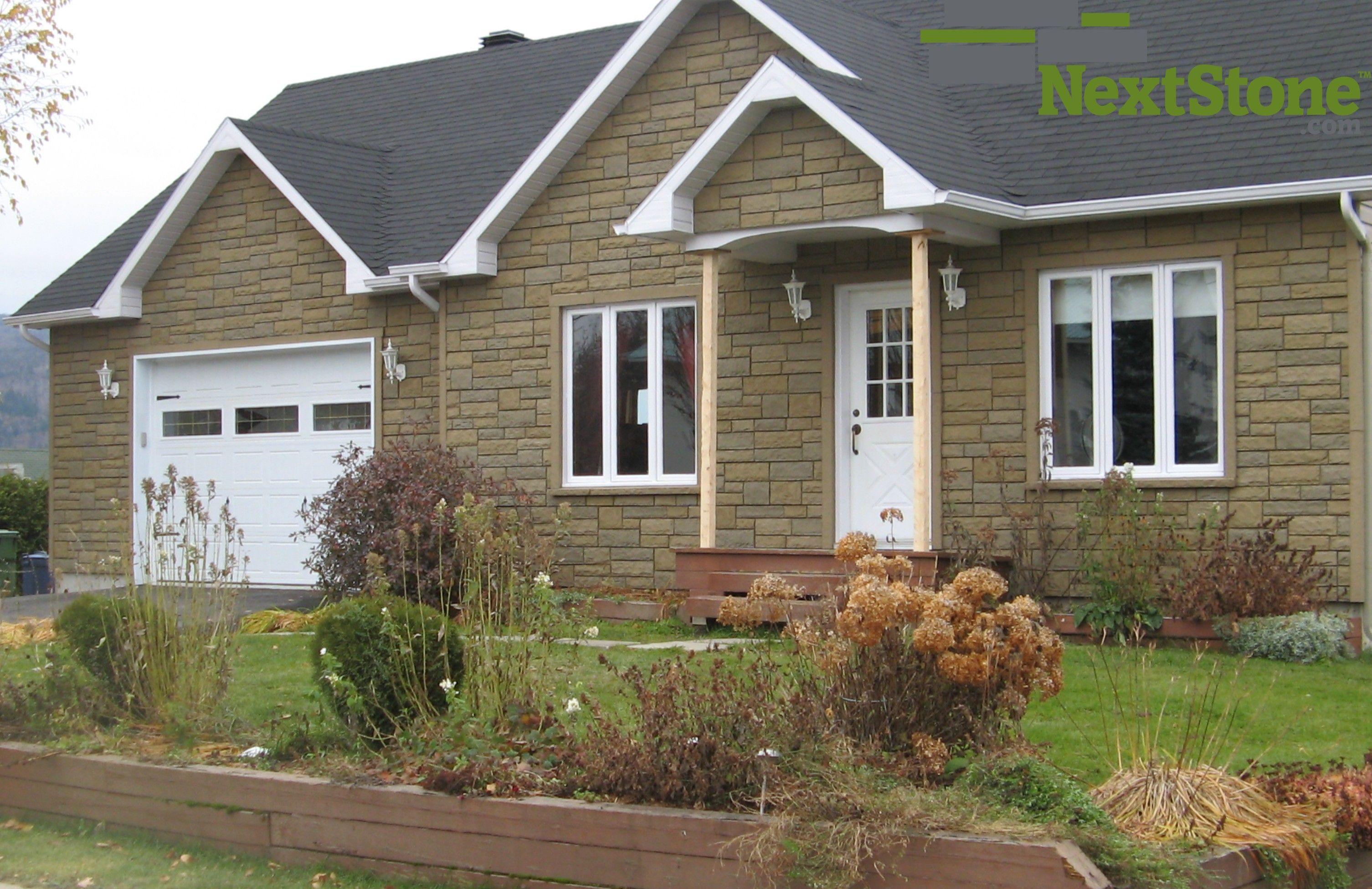 Top To Bottom Insulation With Nextstone Stone Siding Panels
