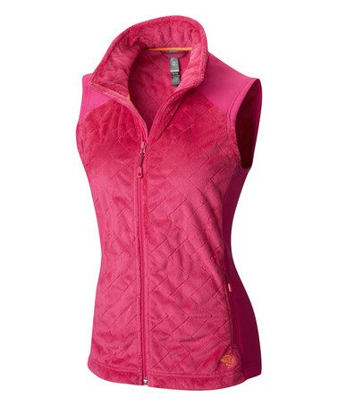 Love this Haute Pink & Deep Blush Pyxis™ Stretch Quilted Vest on #zulily…