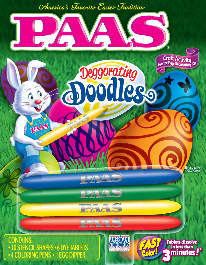 PAAS Deggorating Doodles Kit #easter | PAAS Egg Decorating ...